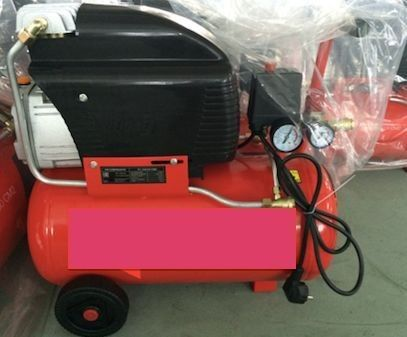 Multi Color Compact Air Compressor , 2HP Input Power Electric Air Compressor